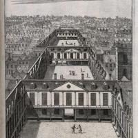 Engraving of St Thomas's Hospital, 1739.